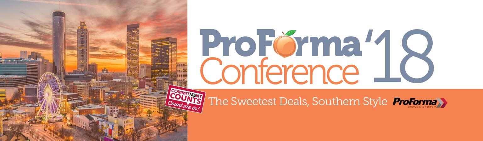 2018 ProForma Conference